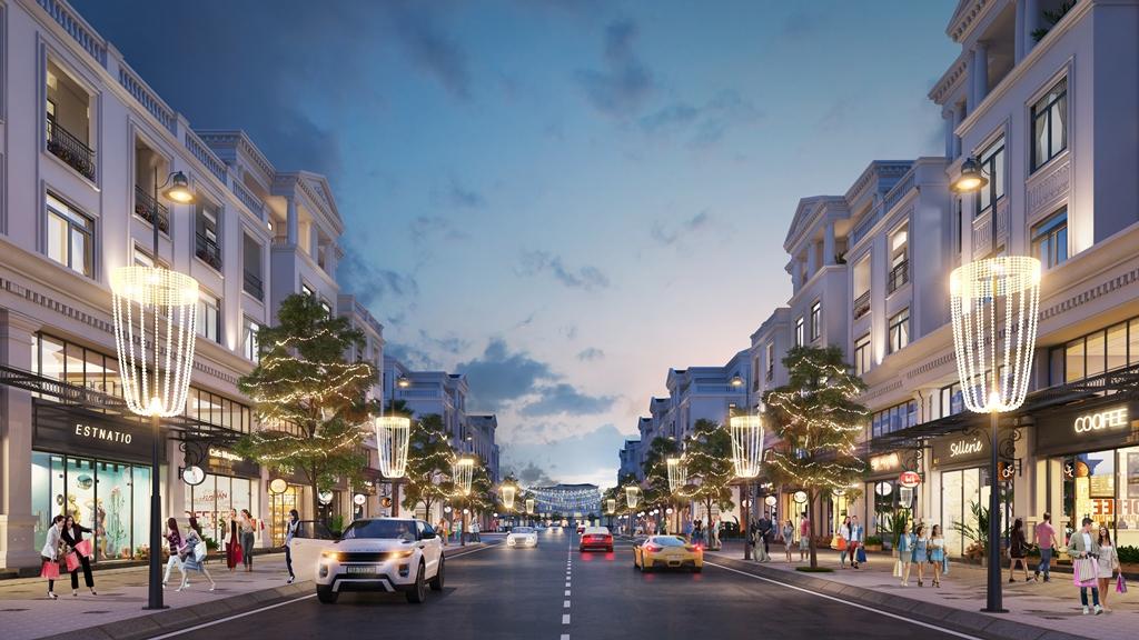Đại lộ ánh sáng dự án Vinhomes Marina